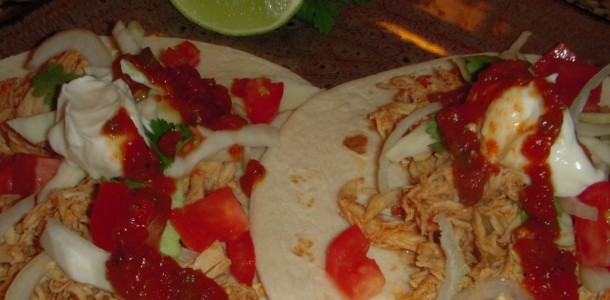 Chicken Chipotle Taco's
