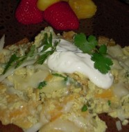 Chilaquiles Mexican Eggs