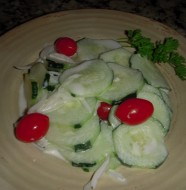 Best Creamy Cucumber Salad