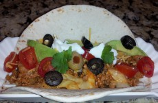 Skinny Turkey Cabbage Taco's
