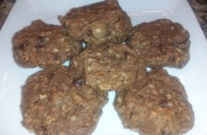 Dove Chocolate, Peanut Butter, Pecan, Oatmeal Cookies