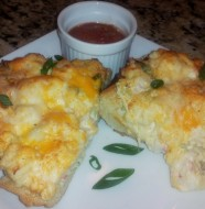 Crab Cheesy Bread