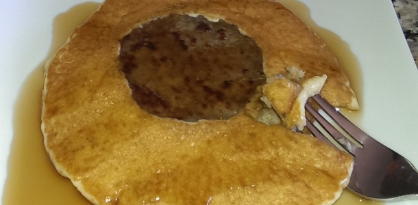 Sausage Patty Pancakes