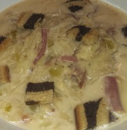 Best Reuben Soup
