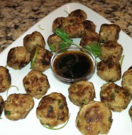 Turkey Thai Meatballs