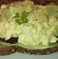 Egg Salad Bacon Avocado Sandwich